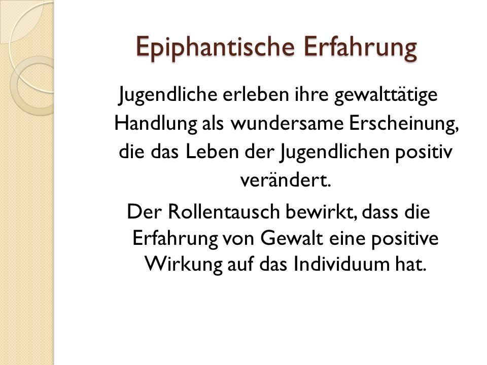 Epiphantische Erfahrung