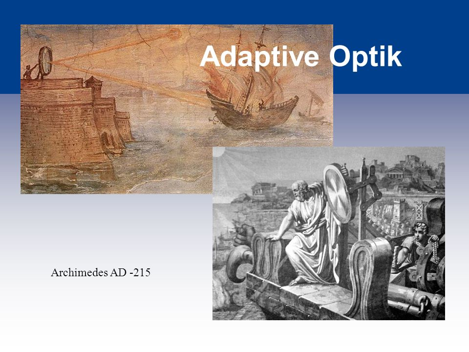 Adaptive Optik Archimedes AD -215