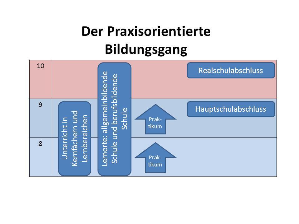 Der Praxisorientierte Bildungsgang