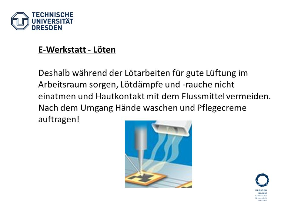 E-Werkstatt - Löten