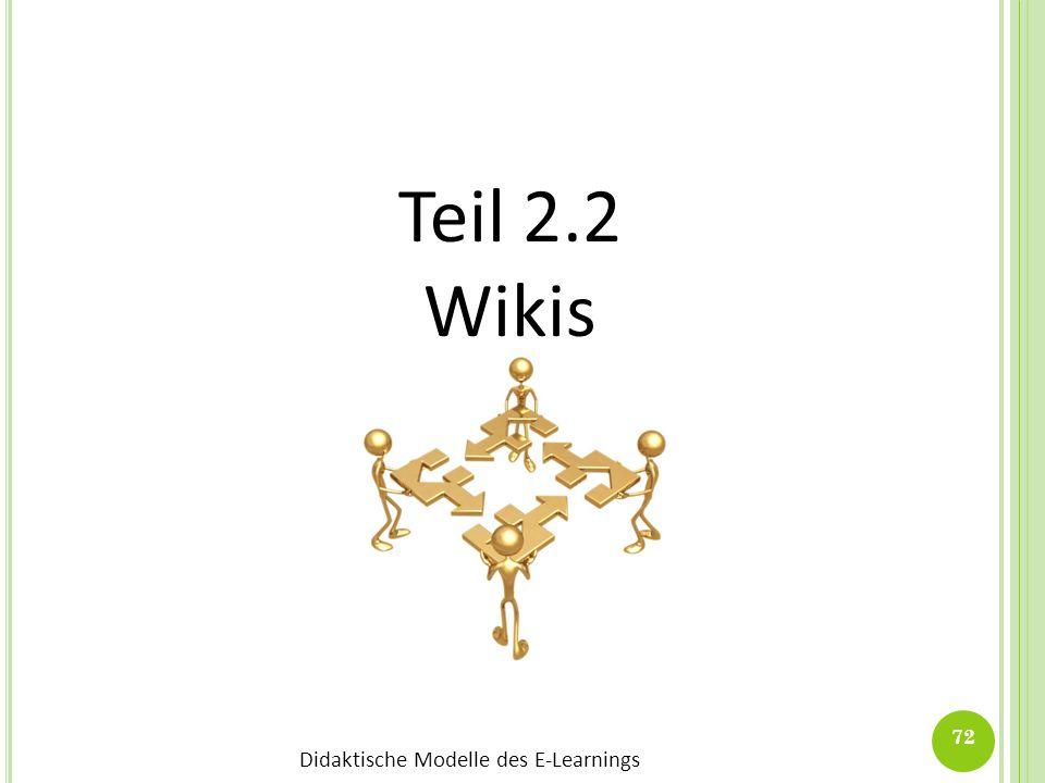 Teil 2.2 Wikis