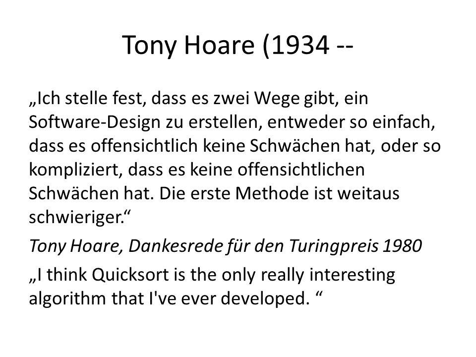 Tony Hoare (1934 --