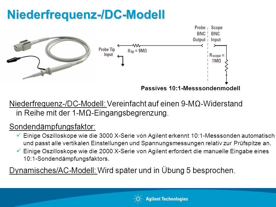 Niederfrequenz-/DC-Modell