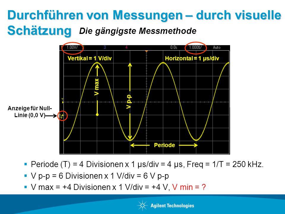 Durchführen von Messungen – durch visuelle Schätzung