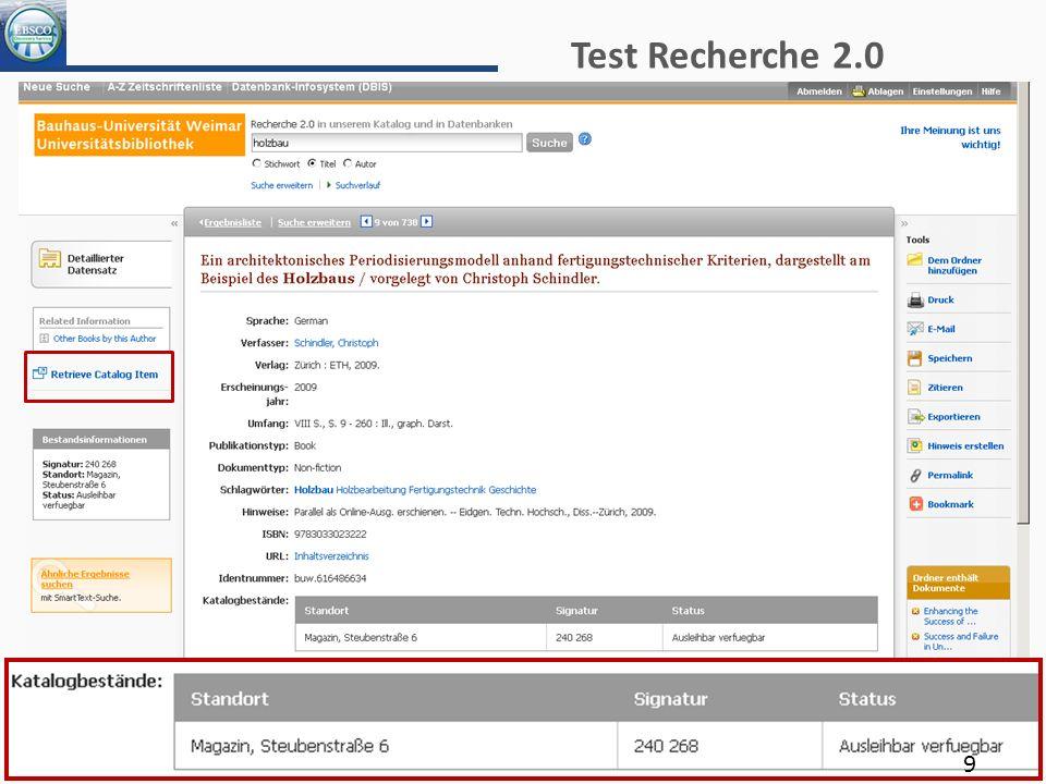 Test Recherche 2.0 9