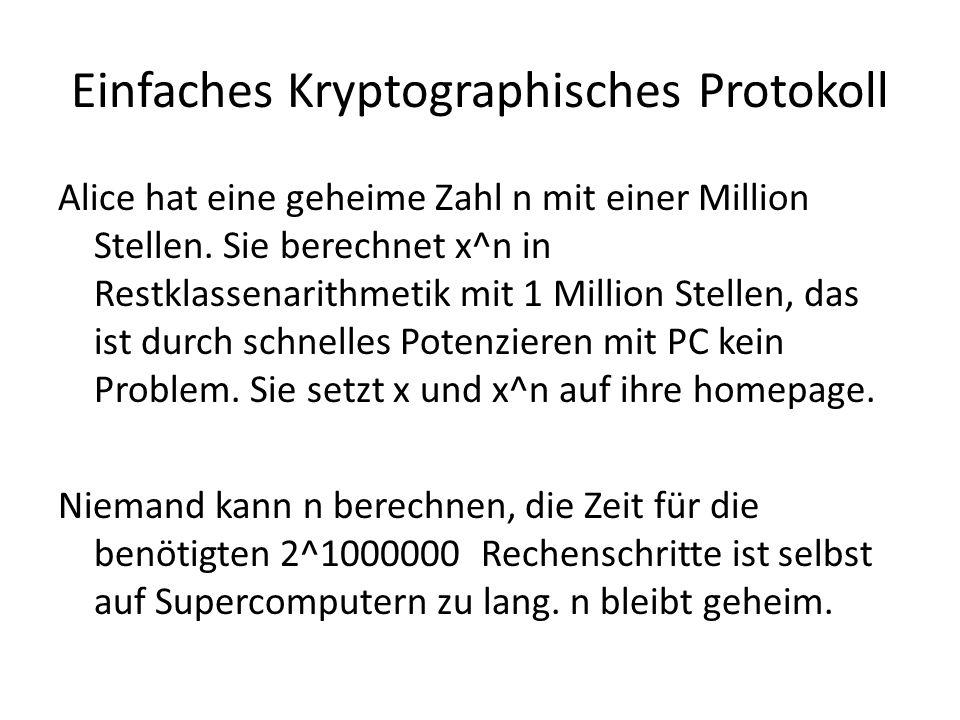 Einfaches Kryptographisches Protokoll