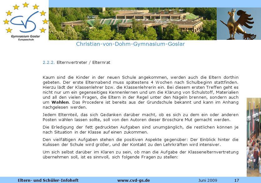 Christian-von-Dohm-Gymnasium-Goslar