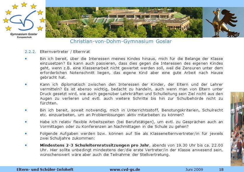 Christian-von-Dohm-Gymnasium Goslar