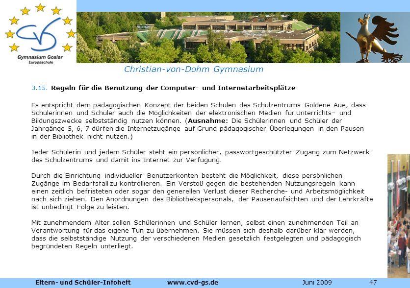 Christian-von-Dohm Gymnasium