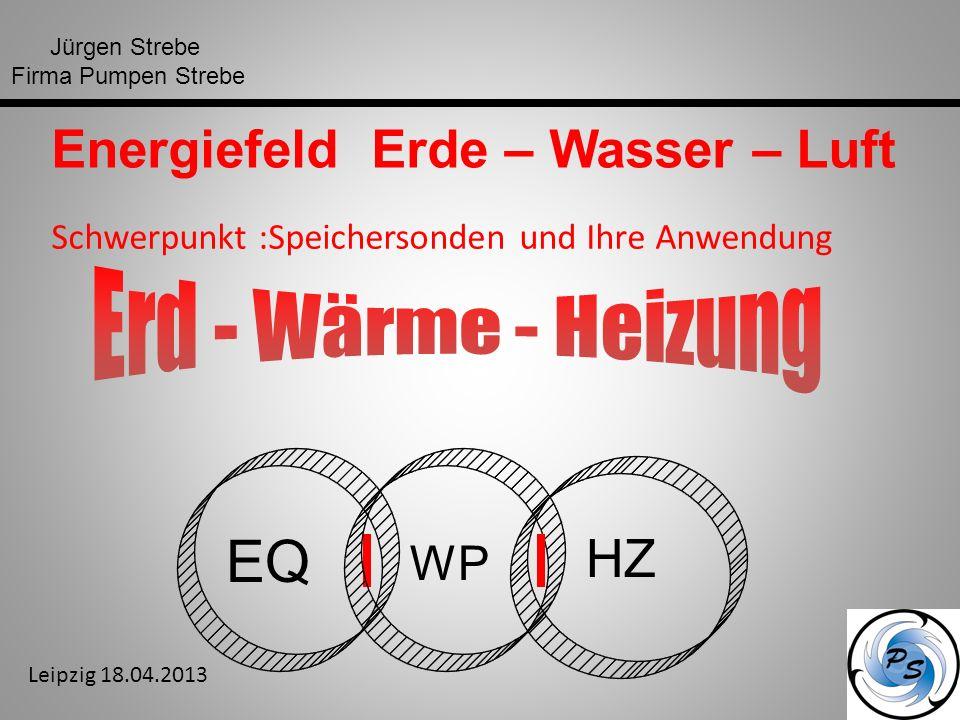EQ Energiefeld Erde – Wasser – Luft HZ WP Erd - Wärme - Heizung