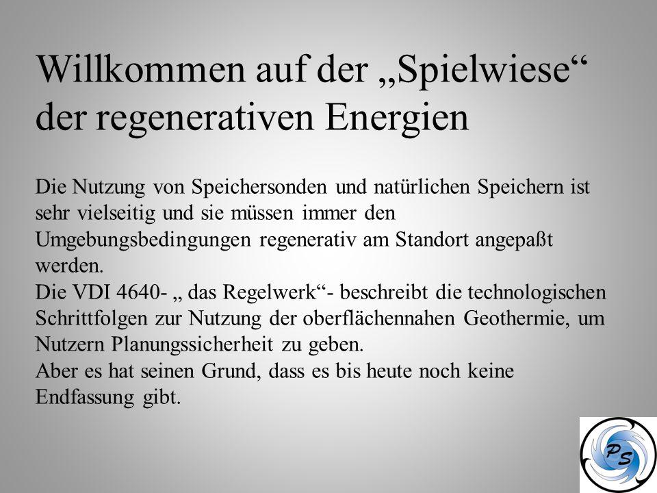 """Willkommen auf der """"Spielwiese der regenerativen Energien"""