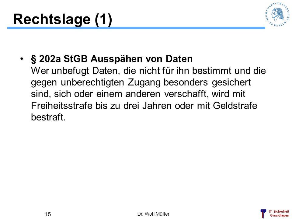 Rechtslage (1)