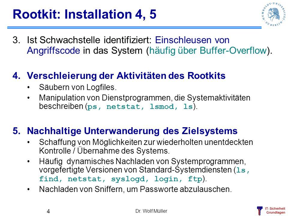 Rootkit: Installation 4, 5