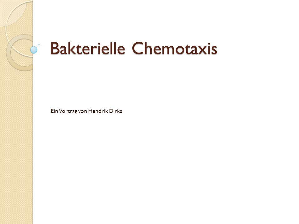 Bakterielle Chemotaxis
