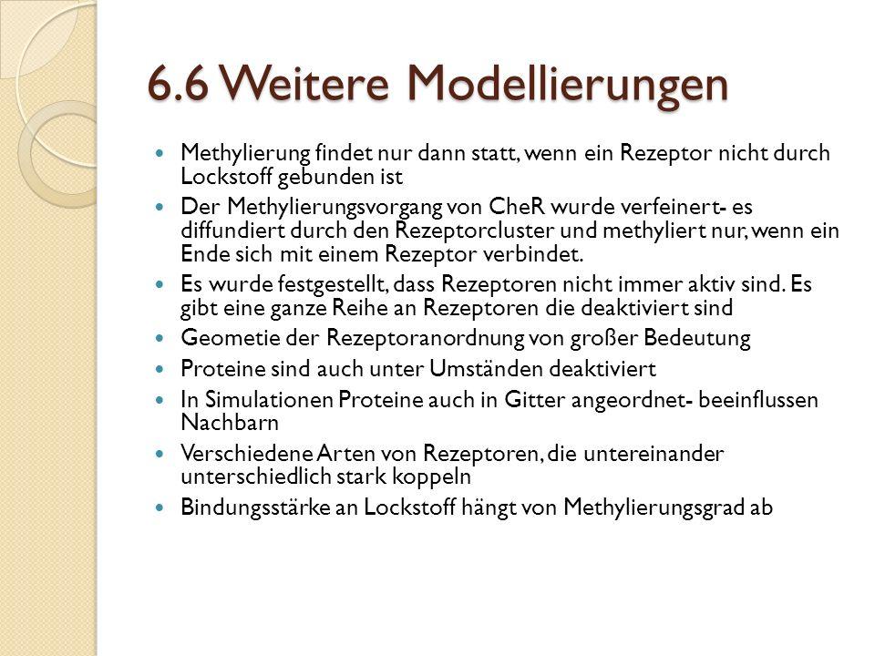 6.6 Weitere Modellierungen