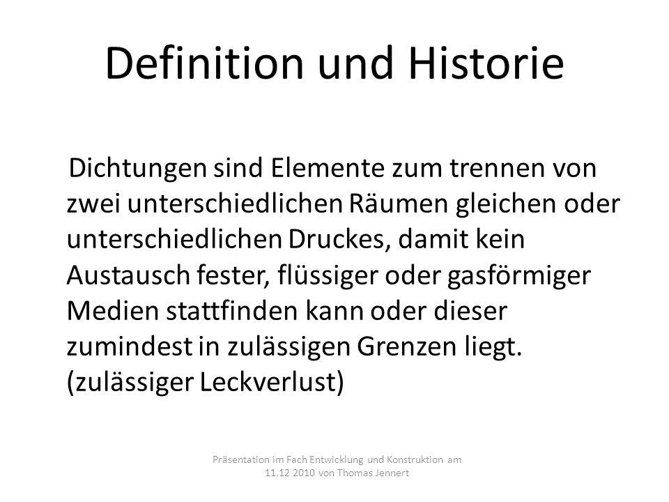 Definition und Historie