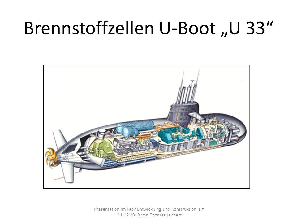 """Brennstoffzellen U-Boot """"U 33"""