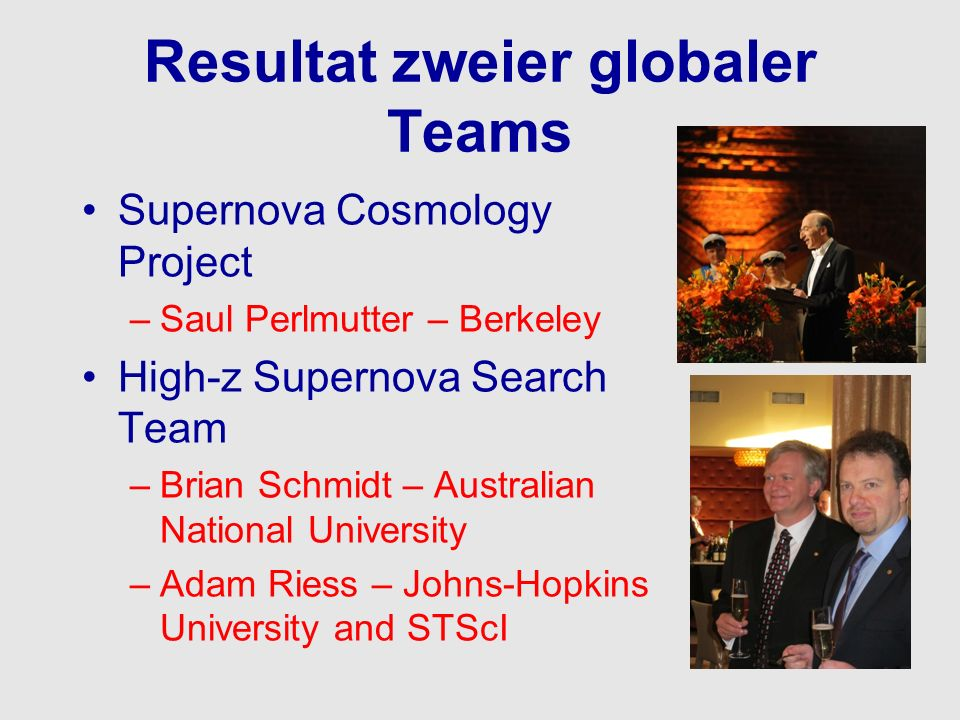 Resultat zweier globaler Teams