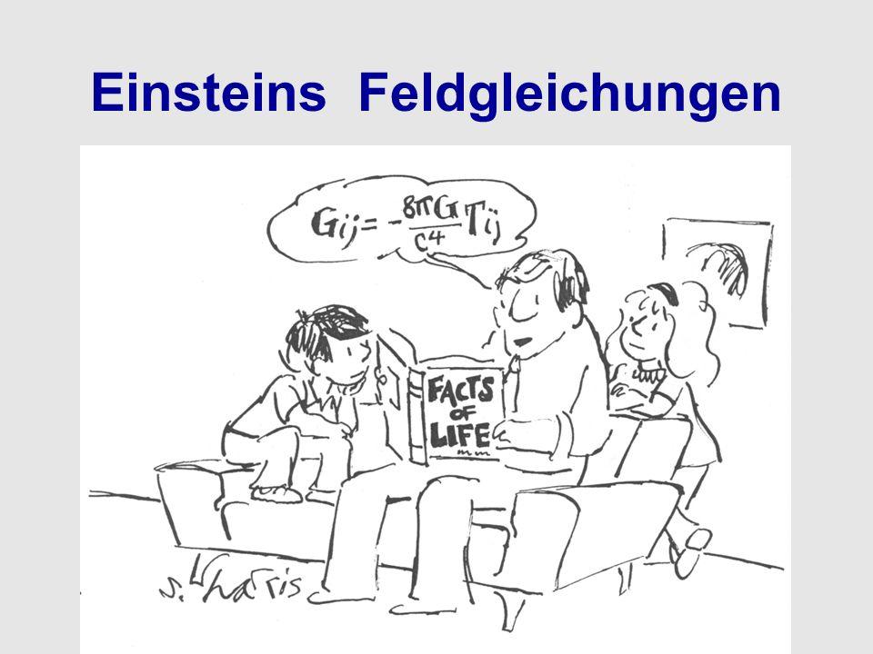 Einsteins Feldgleichungen