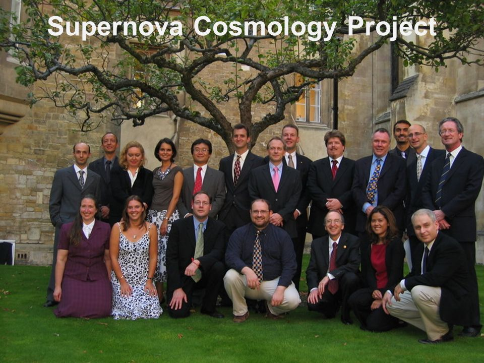 Supernova Cosmology Project