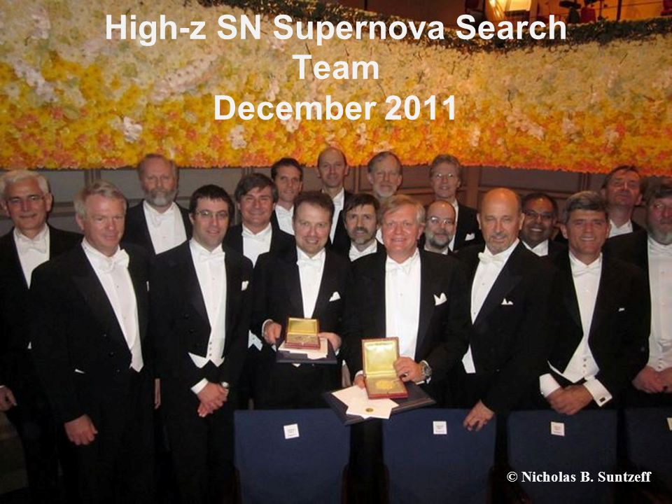 High-z SN Supernova Search Team December 2011