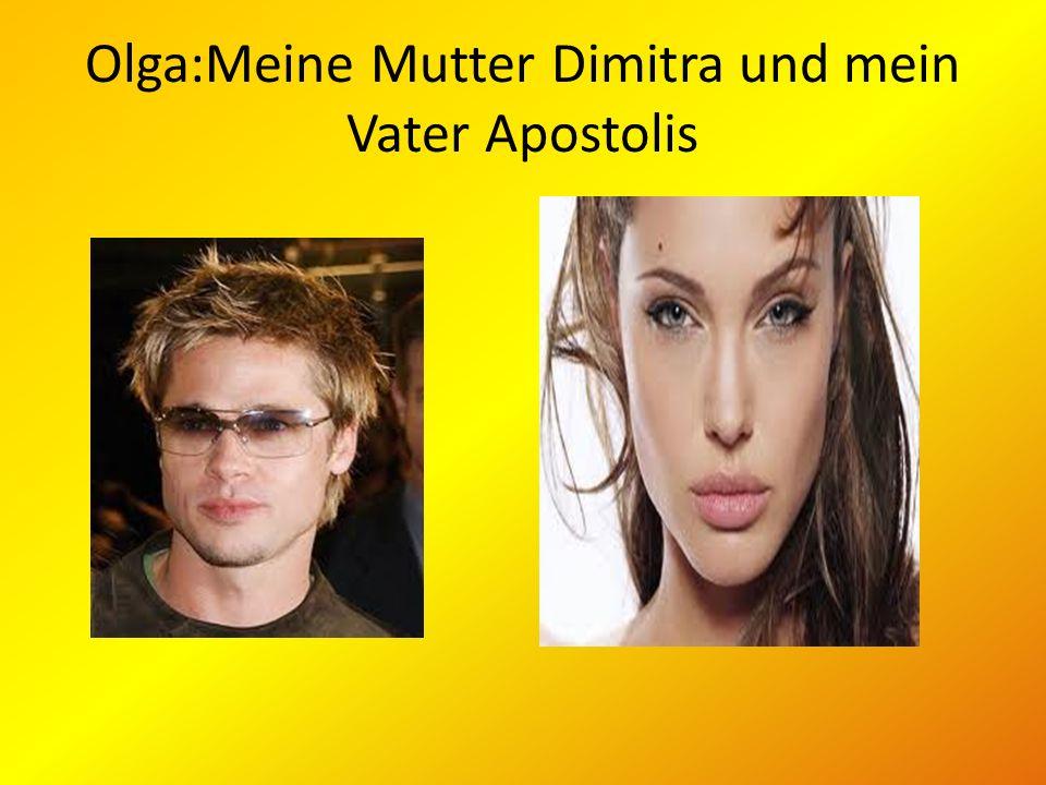 Olga:Meine Mutter Dimitra und mein Vater Apostolis