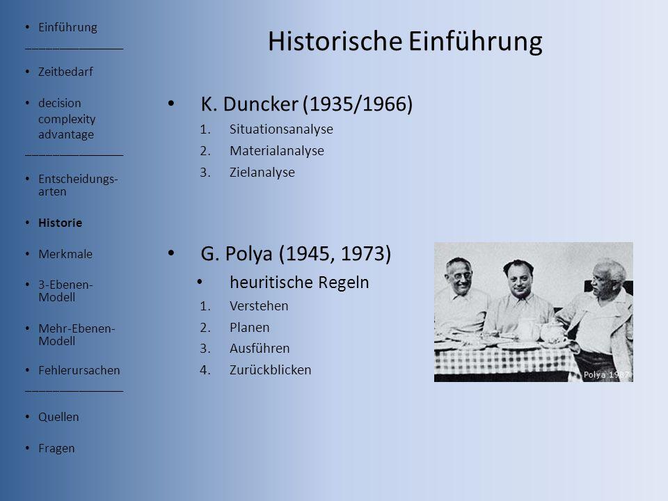 Historische Einführung