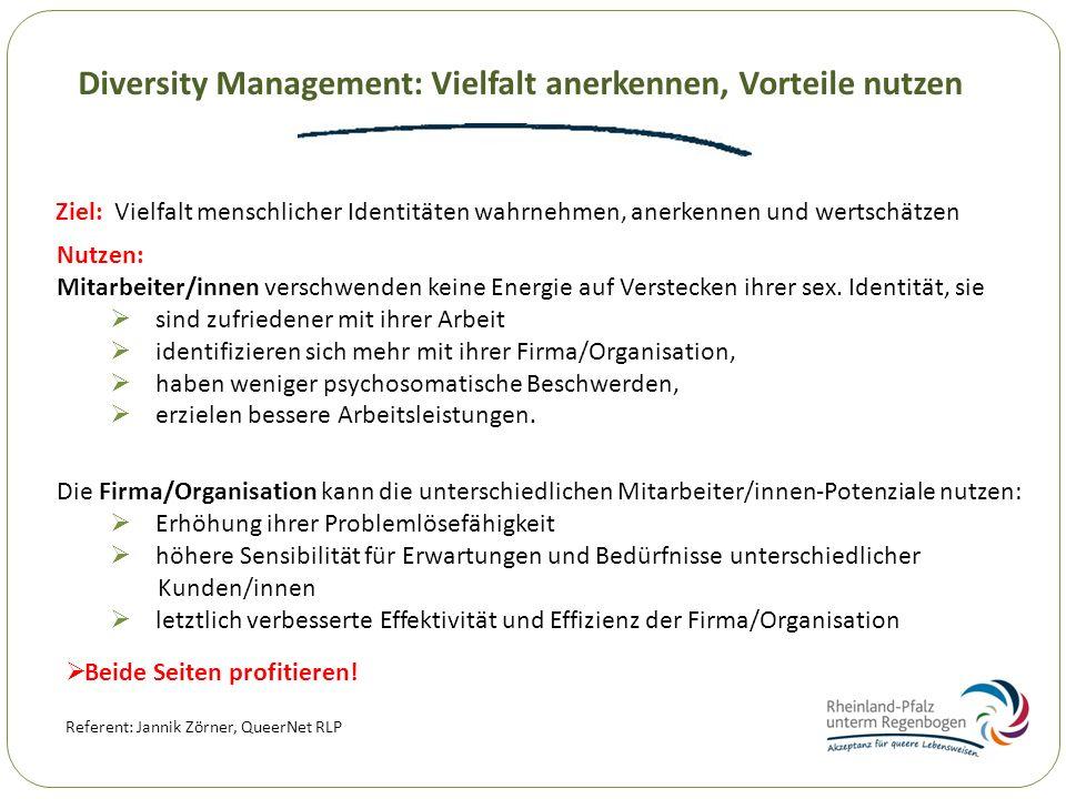 Diversity Management: Vielfalt anerkennen, Vorteile nutzen