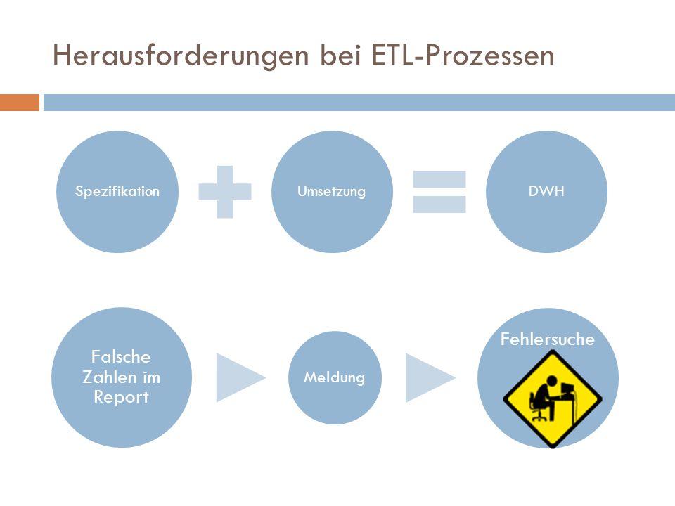 Herausforderungen bei ETL-Prozessen