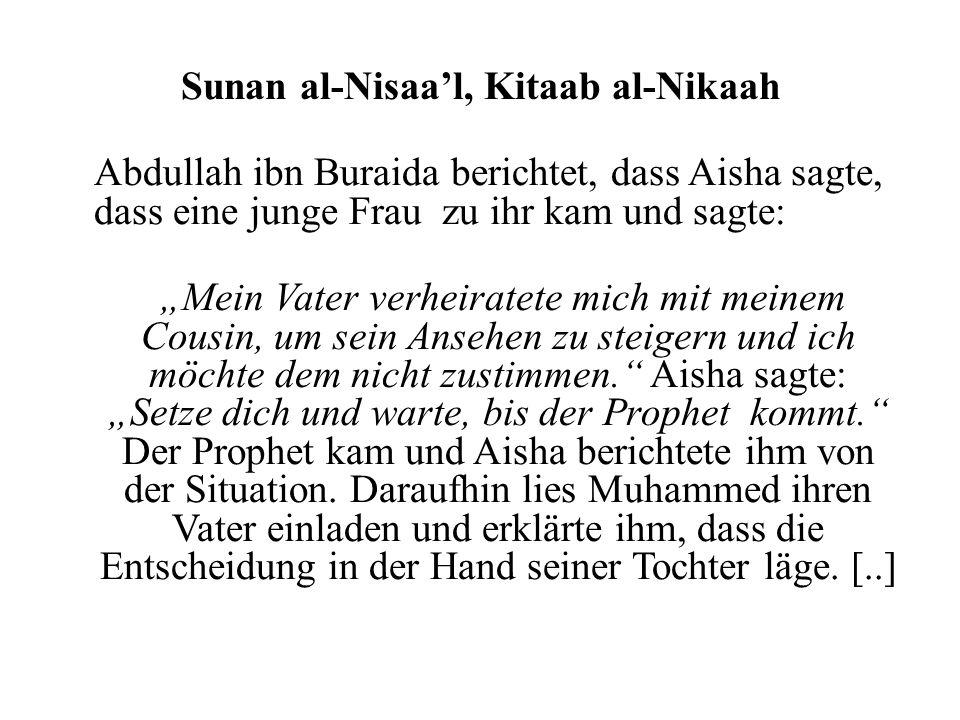 Sunan al-Nisaa'l, Kitaab al-Nikaah