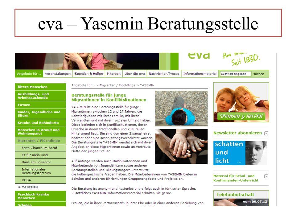 eva – Yasemin Beratungsstelle