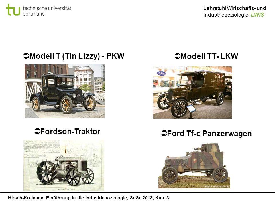 Modell T (Tin Lizzy) - PKW