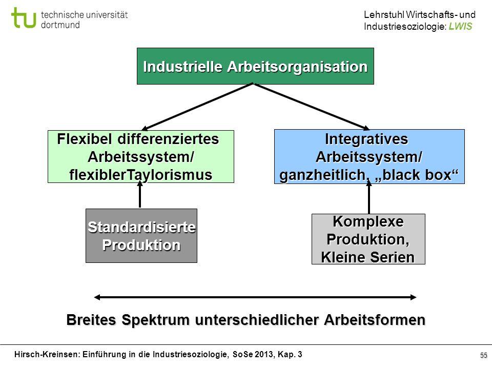 Industrielle Arbeitsorganisation