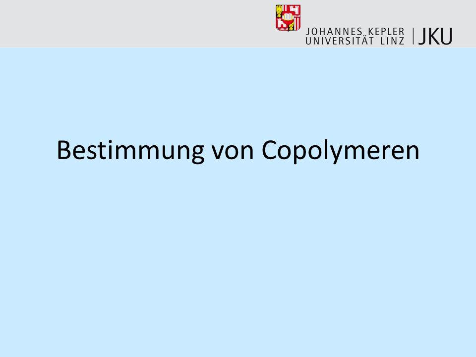 Bestimmung von Copolymeren