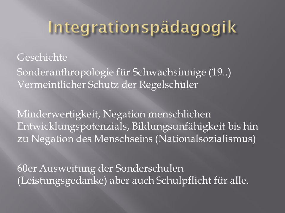 Integrationspädagogik
