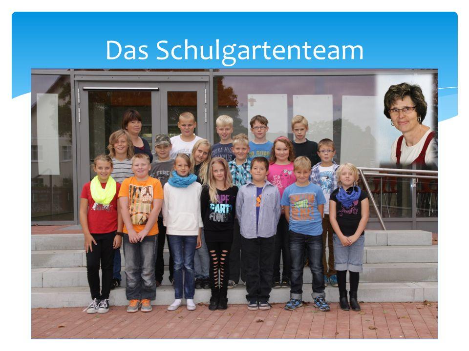 Das Schulgartenteam