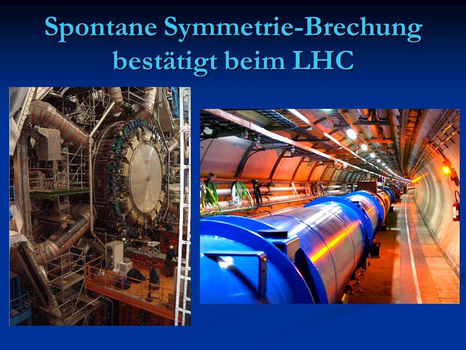Spontane Symmetrie-Brechung bestätigt beim LHC