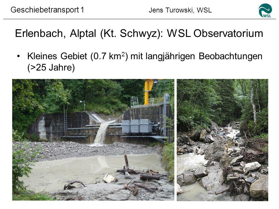 Erlenbach, Alptal (Kt. Schwyz): WSL Observatorium