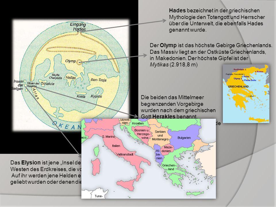 Hades bezeichnet in der griechischen