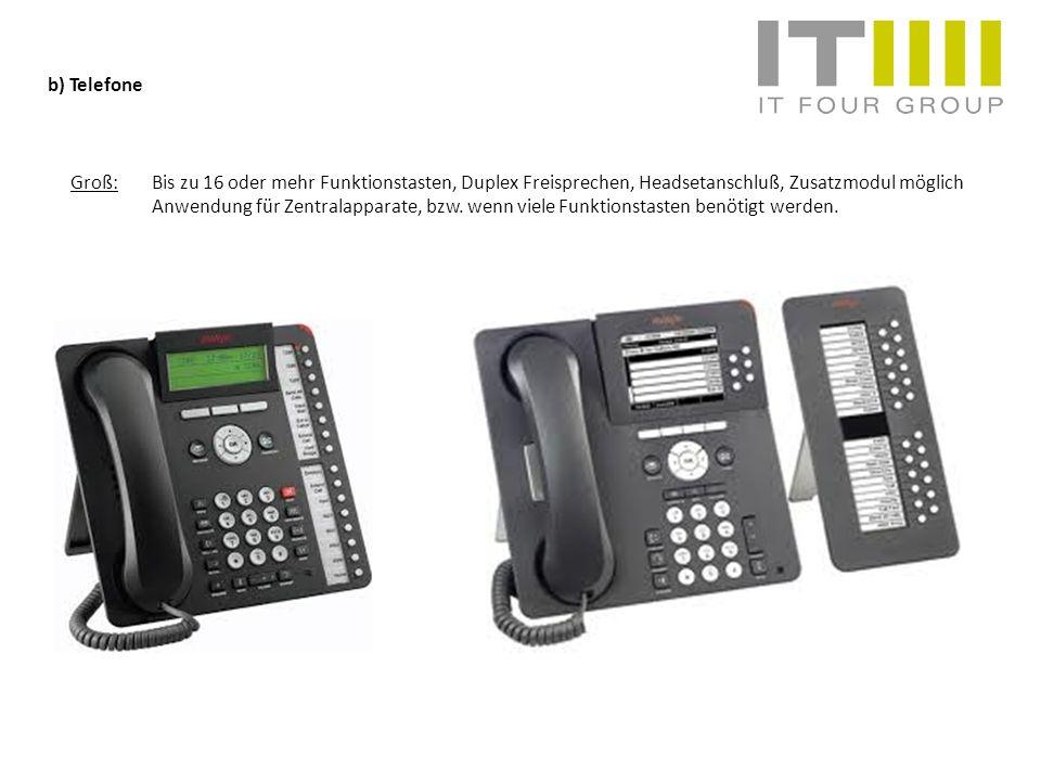 b) Telefone