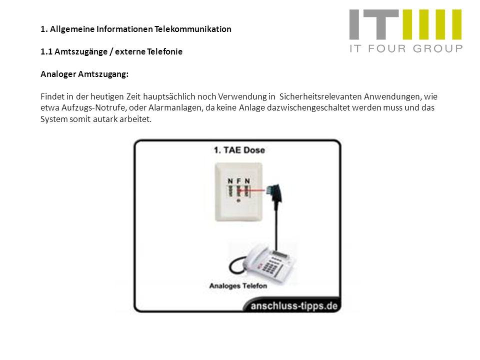 1. Allgemeine Informationen Telekommunikation