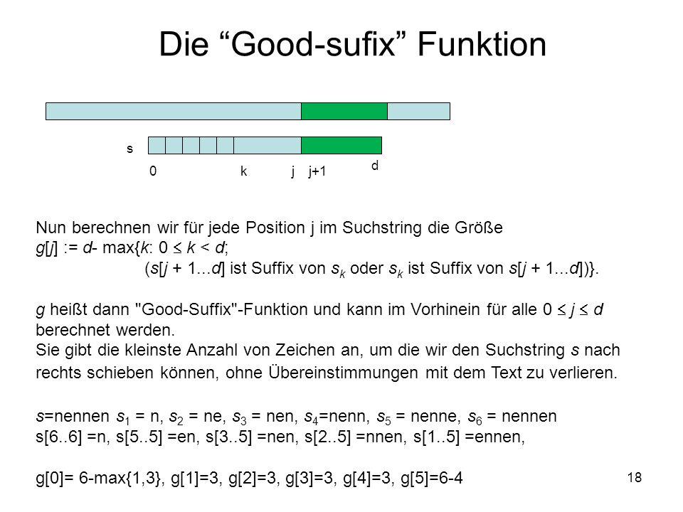 Die Good-sufix Funktion
