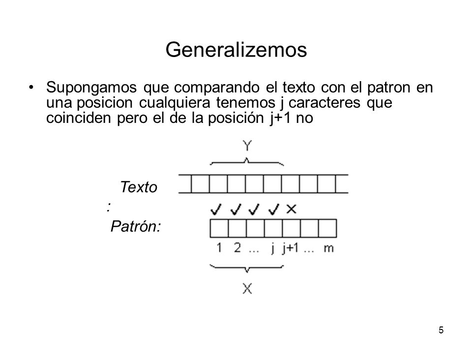 Generalizemos