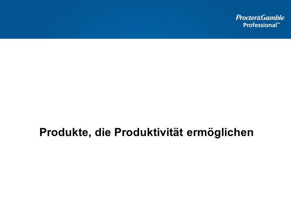 Produkte, die Produktivität ermöglichen