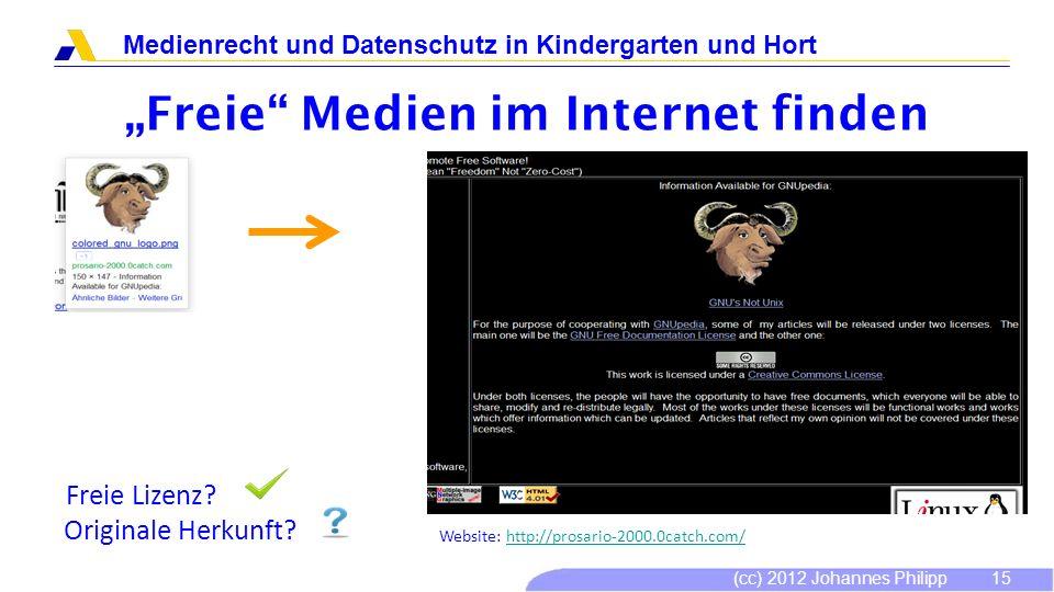 """""""Freie Medien im Internet finden"""