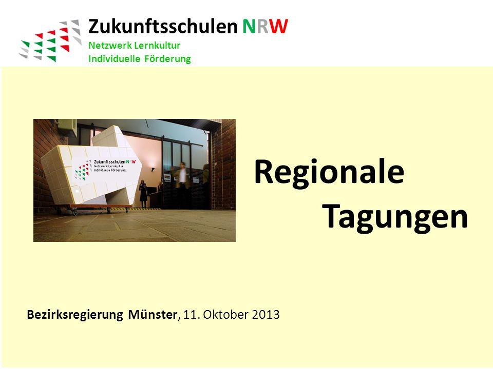 Regionale Tagungen Zukunftsschulen NRW Netzwerk Lernkultur