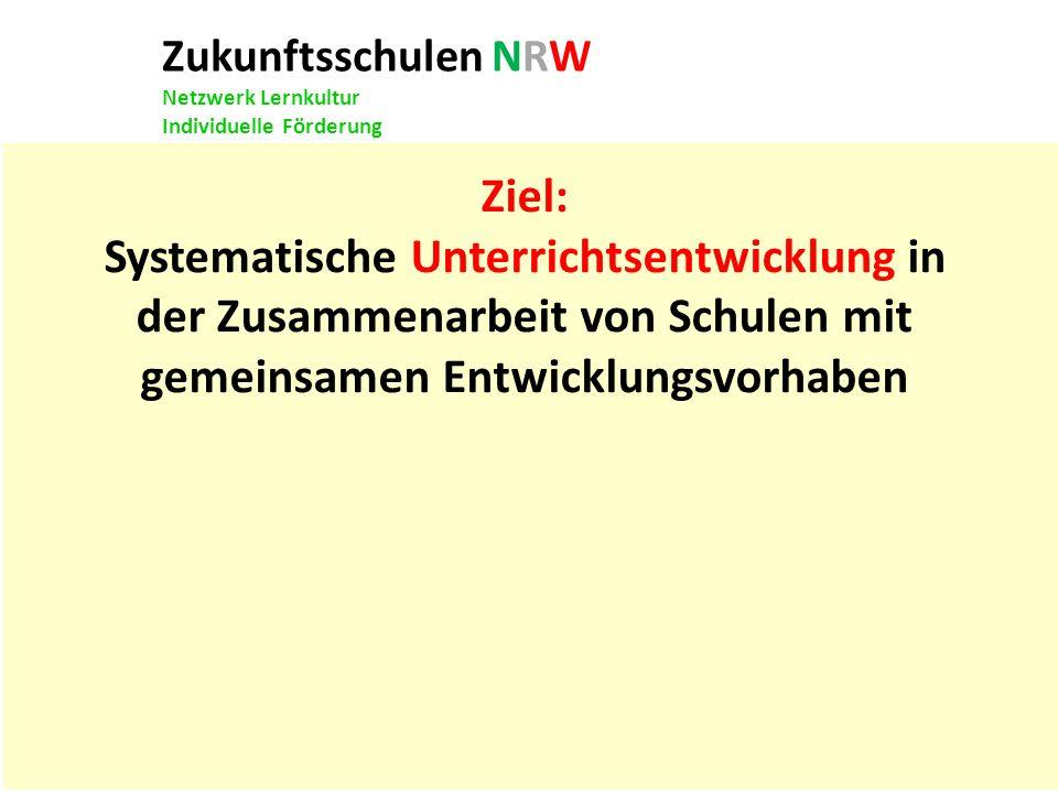 Zukunftsschulen NRW Netzwerk Lernkultur
