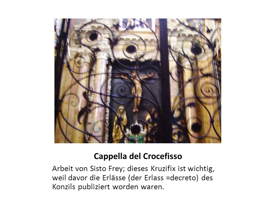 Cappella del Crocefisso