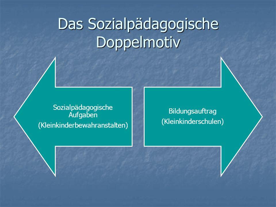 Das Sozialpädagogische Doppelmotiv