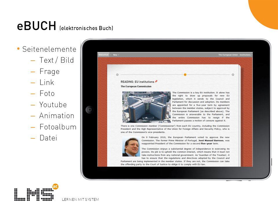 eBUCH (elektronisches Buch)